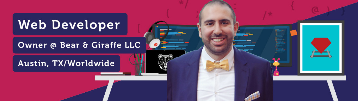 Youssef Chaker, CEO of Bear and Giraffe