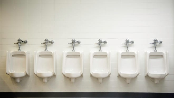 The workplace is like a urinal, built for men…