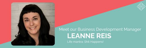Meet Leanne Reis, Business Development Manager